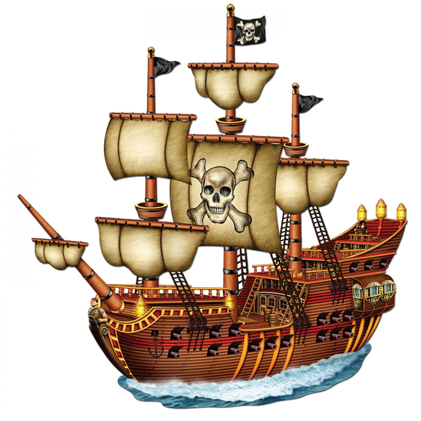 Jointed Pirate Ship image