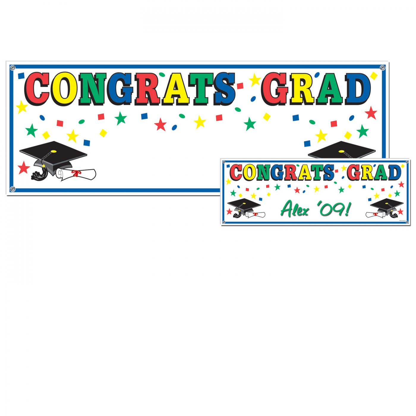 Congrats Grad Sign Banner image