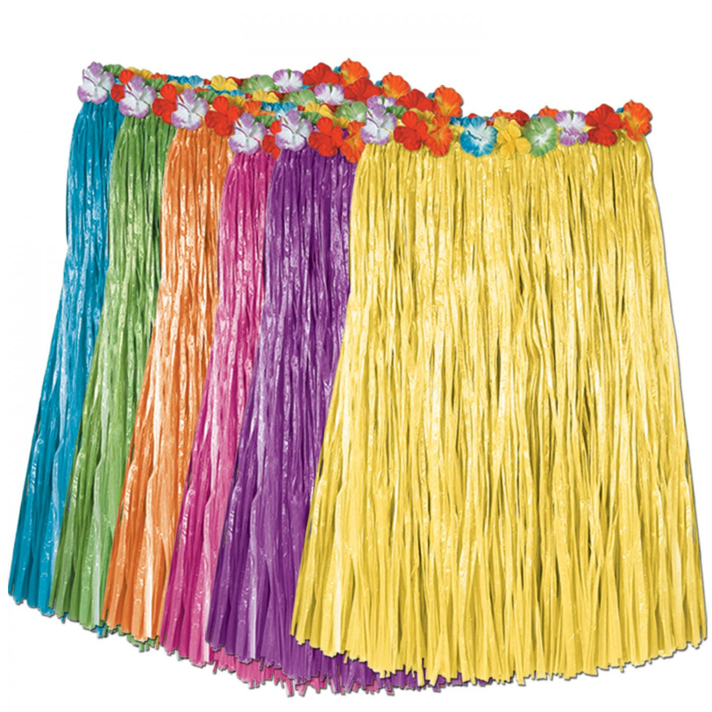 Image of Adult Artificial Grass Hula Skirts