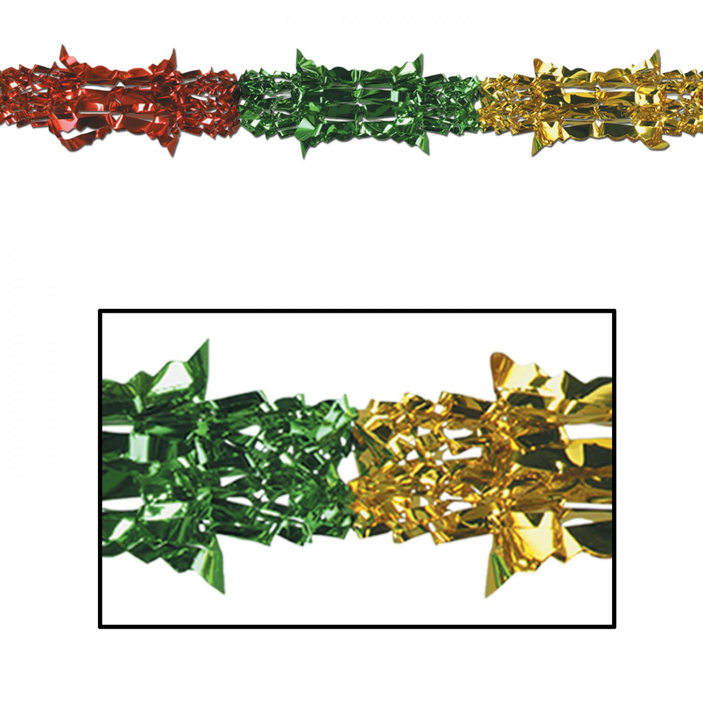 Metallic Garland image