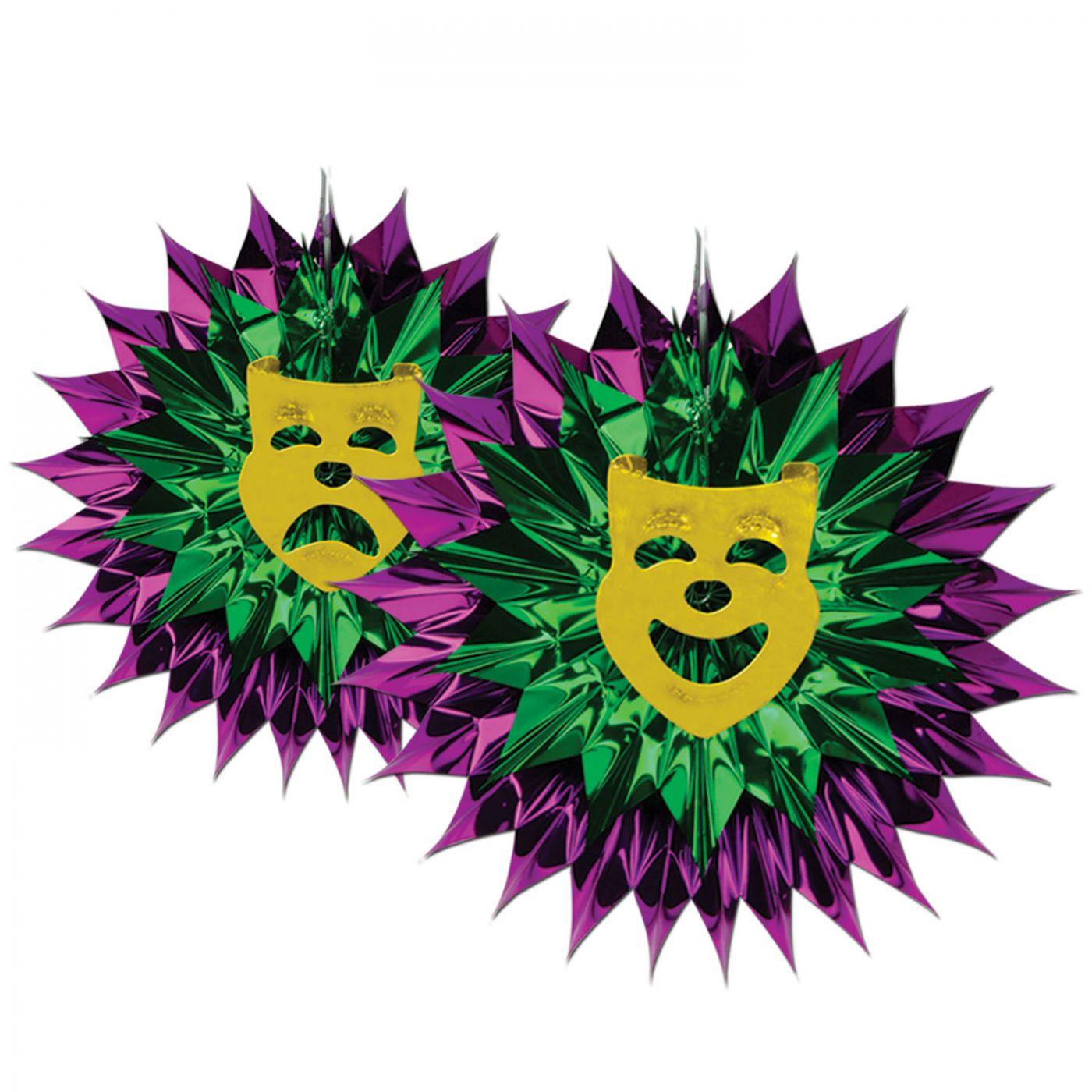 Mardi Gras Fan-Burst image