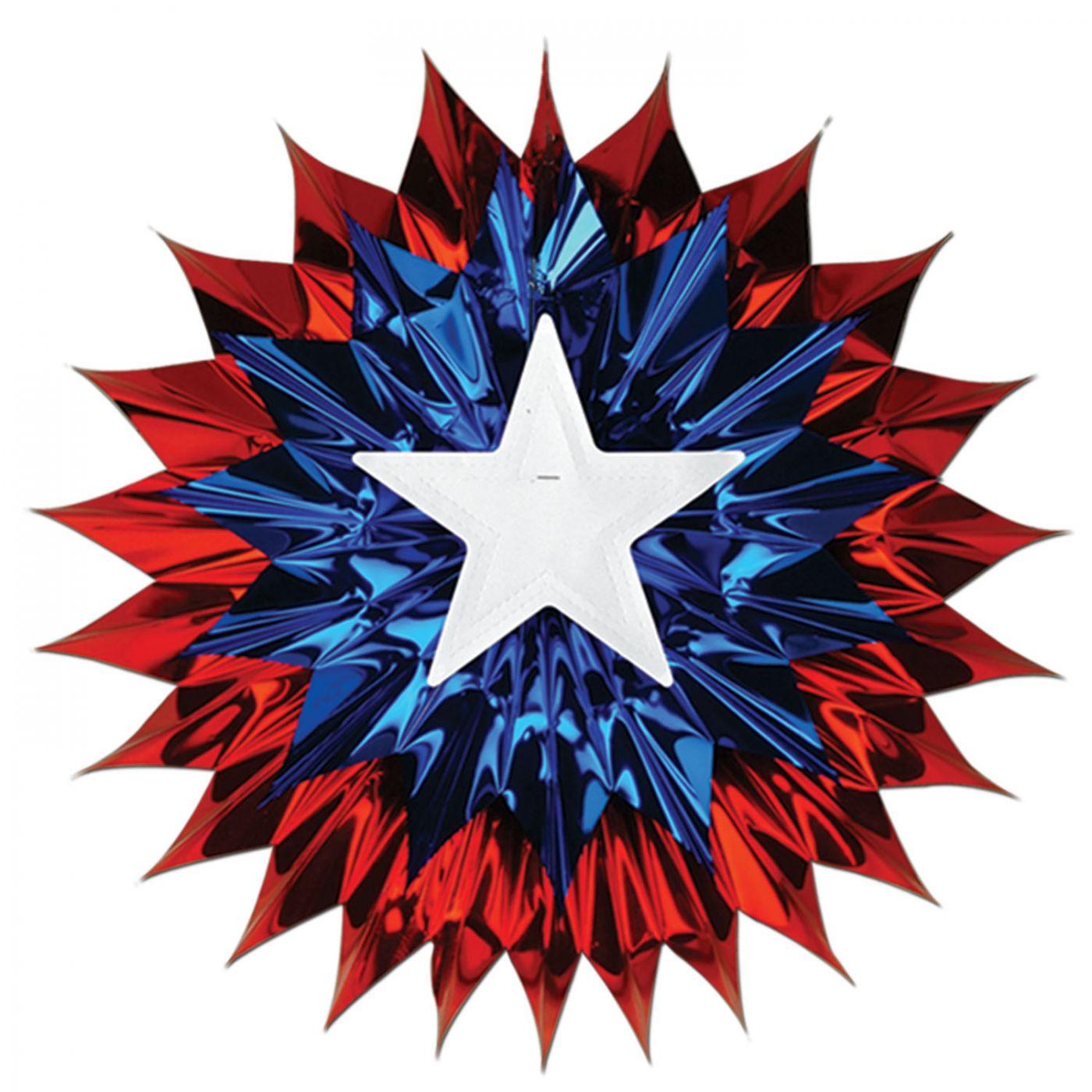 Patriotic Fan-Burst image