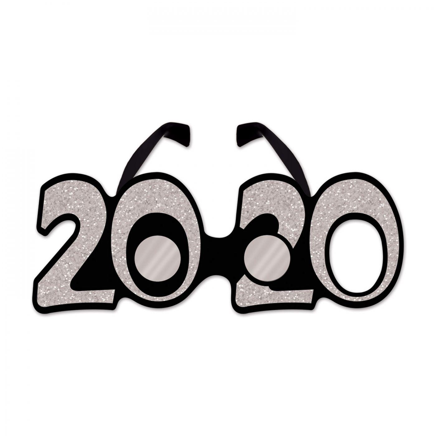 Image of  2020  Glittered Plastic Eyeglasses