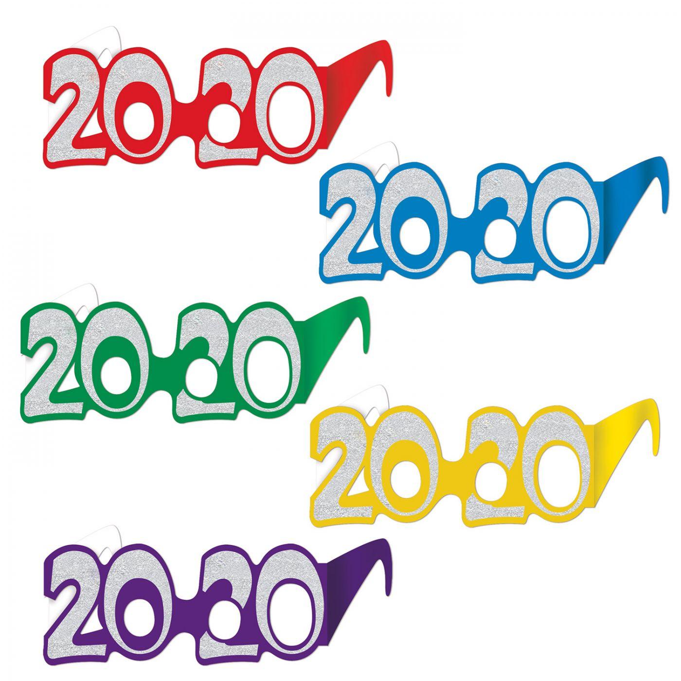 Image of  2020  Glittered Foil Eyeglasses (50)