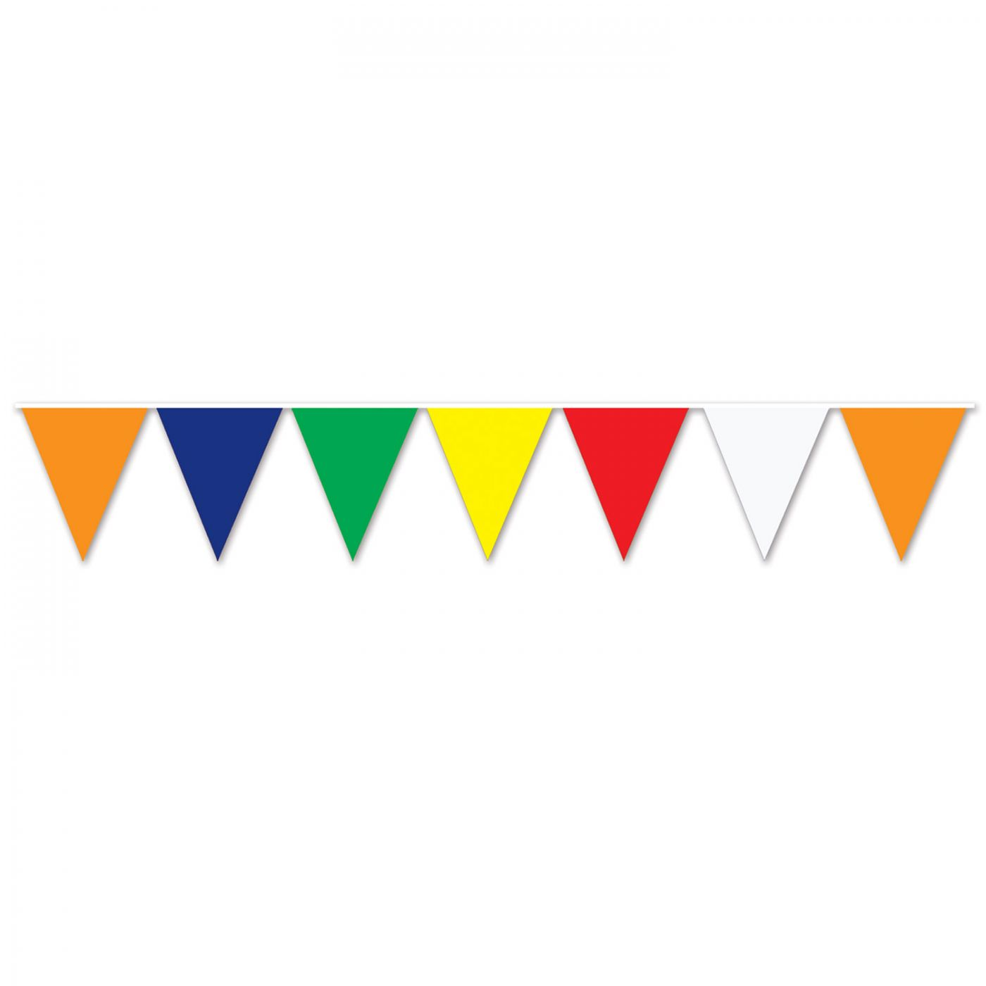 Multi-Color Pennant Banner image