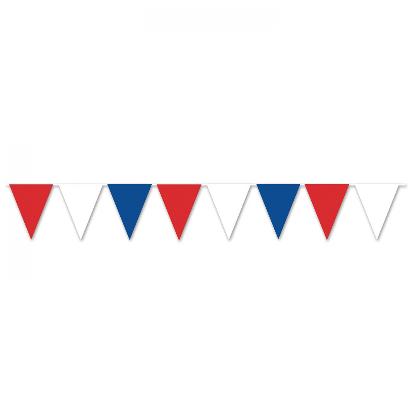 Red, White & Blue Pennant Banner image