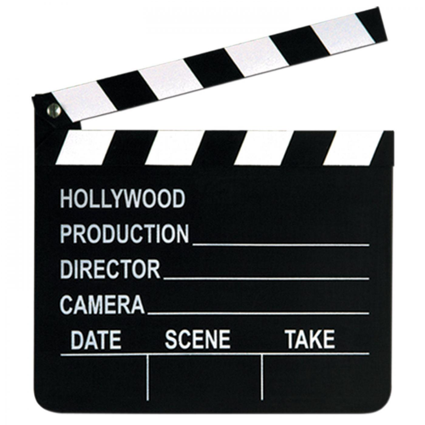 Movie Set Clapboard image