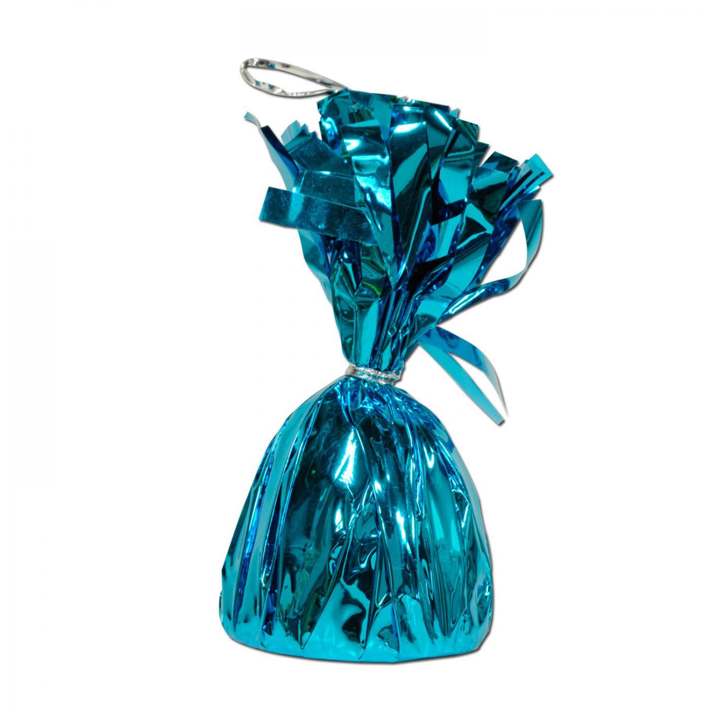 Metallic Wrapped Balloon Weight image