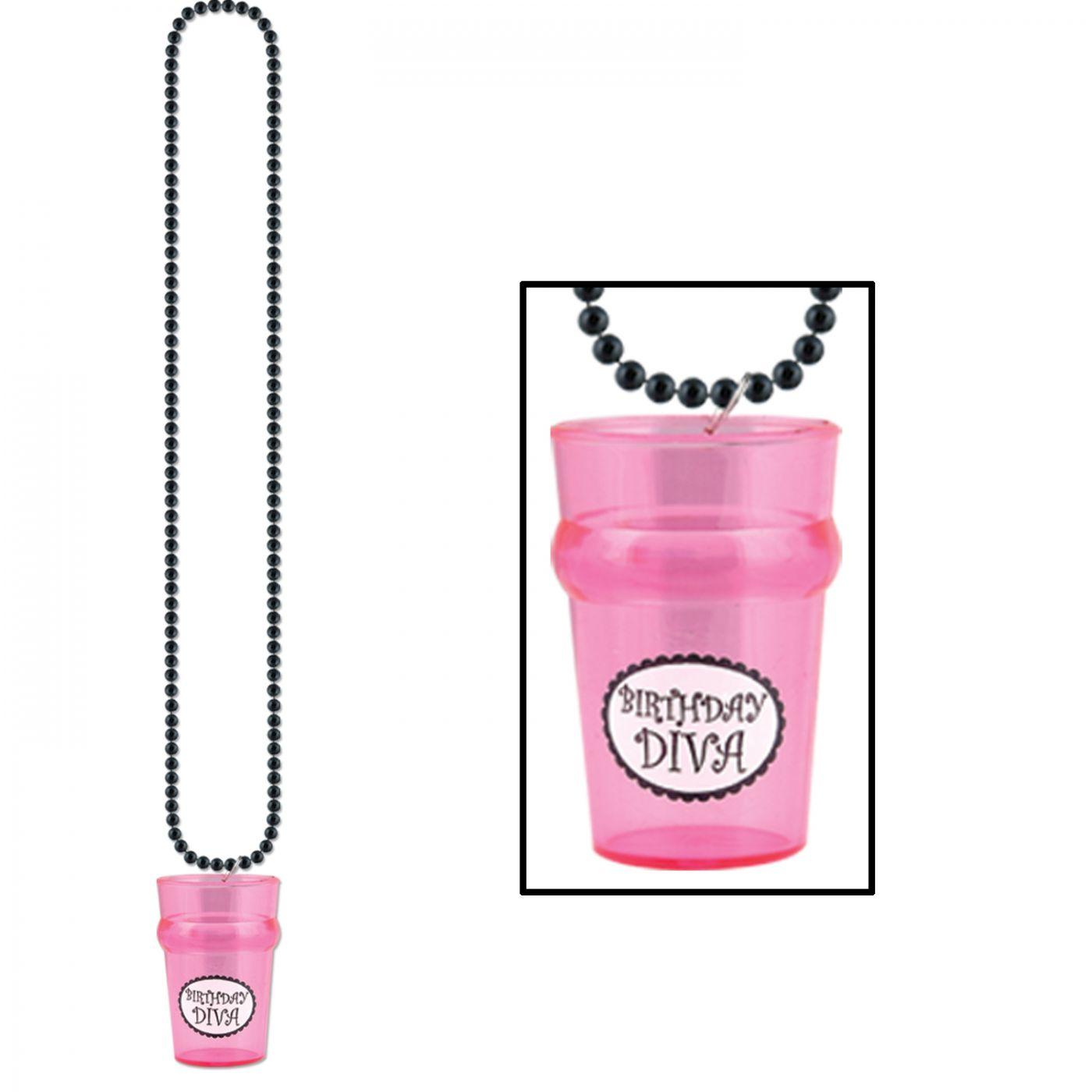 Beads w/Birthday Diva Glass image