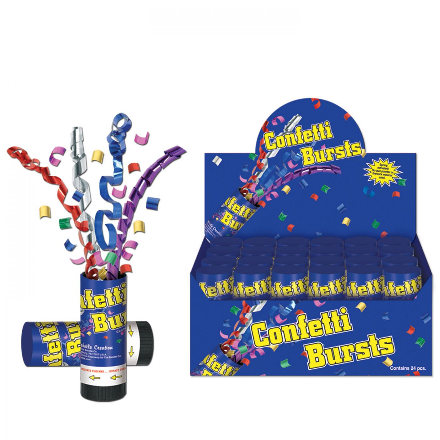 Confetti Bursts (24) image
