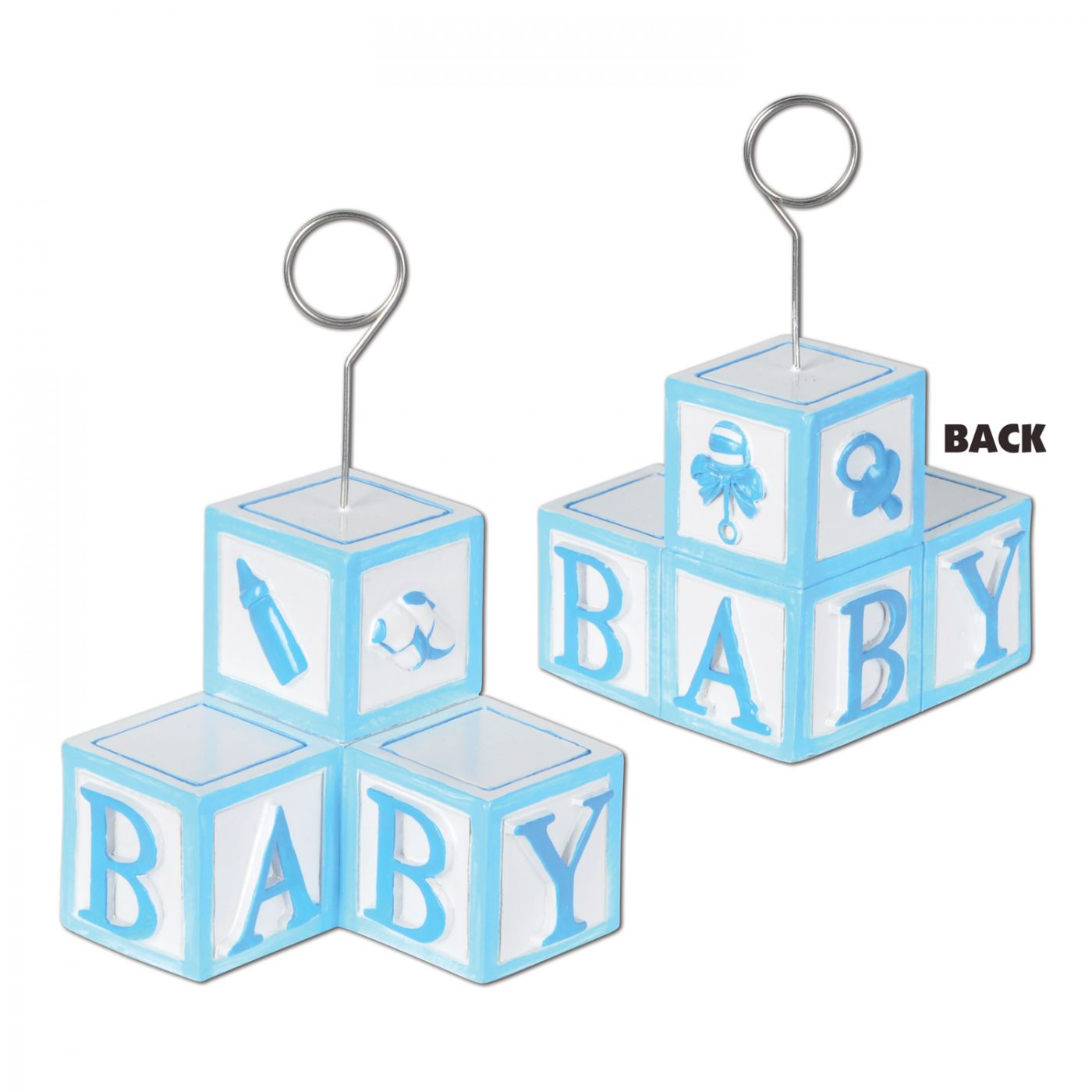 Image of Baby Blocks Photo/Balloon Holder (6)