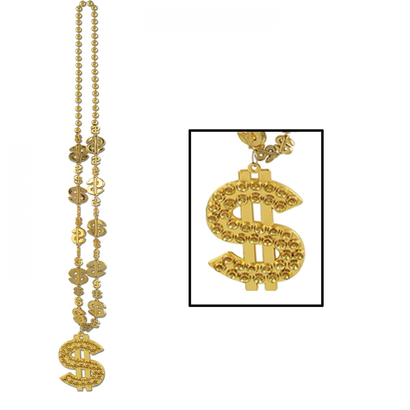 Image of  $  Beads w/ $  Medallion