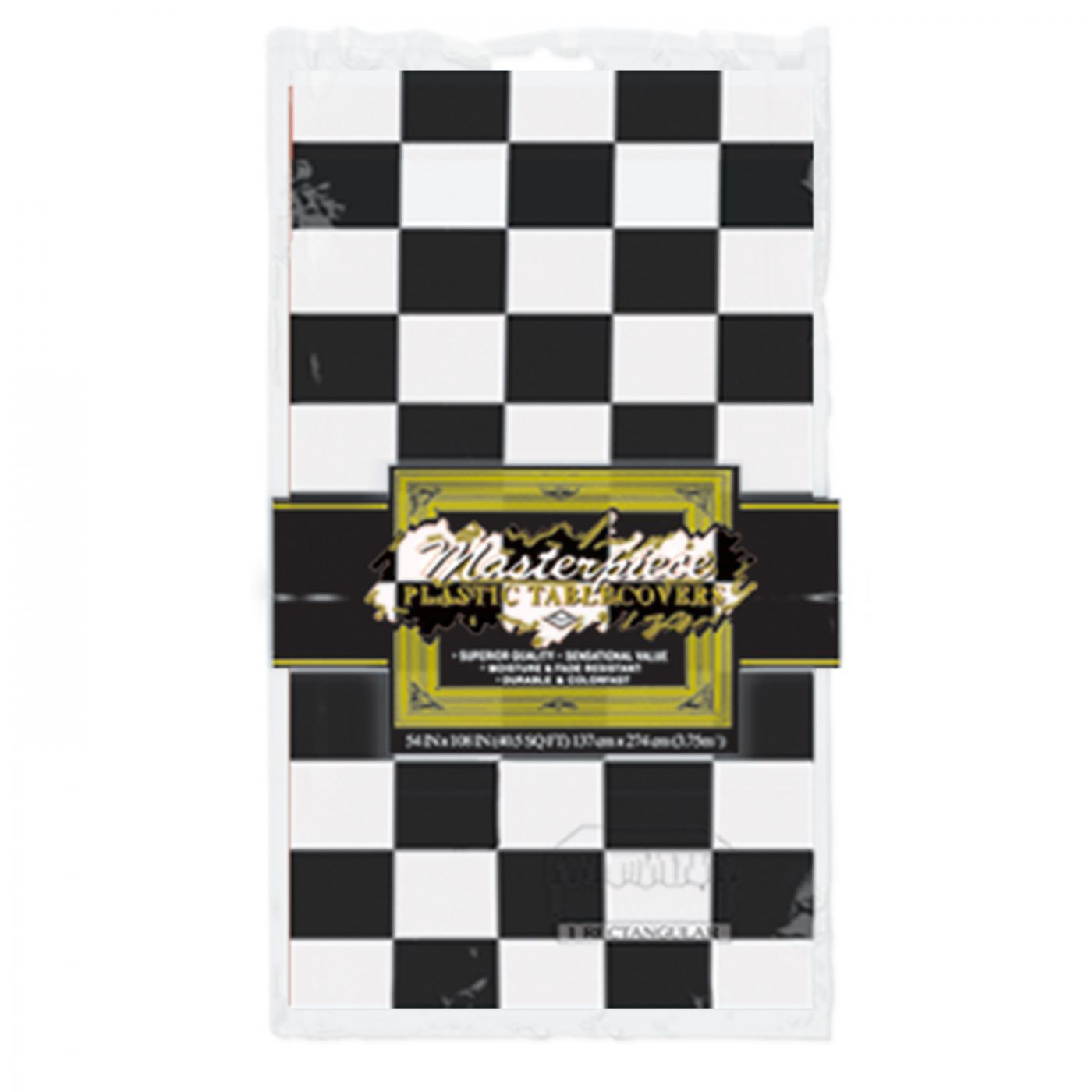 Checkered Tablecover image