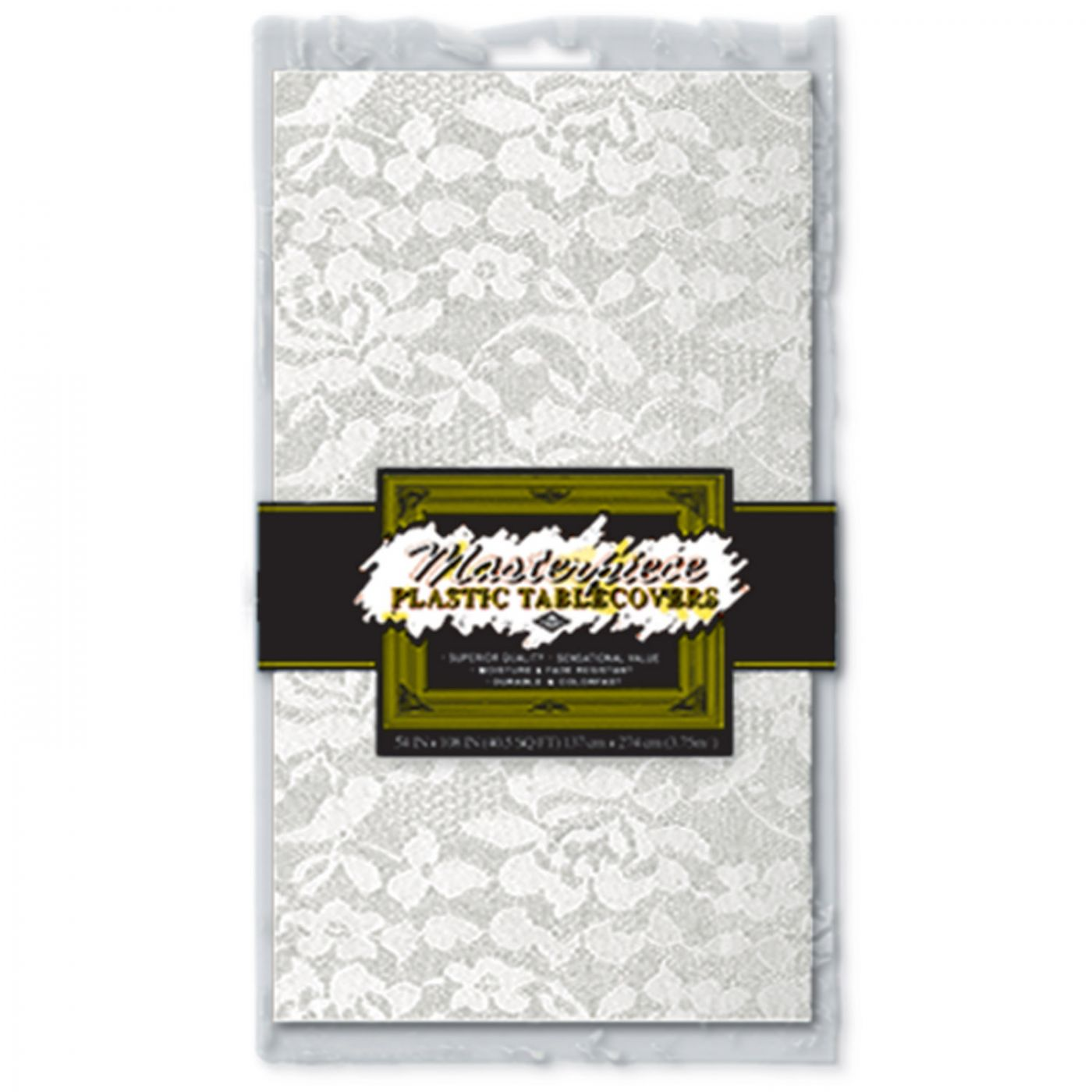 Plastic Lace Rectangular Tablecover image