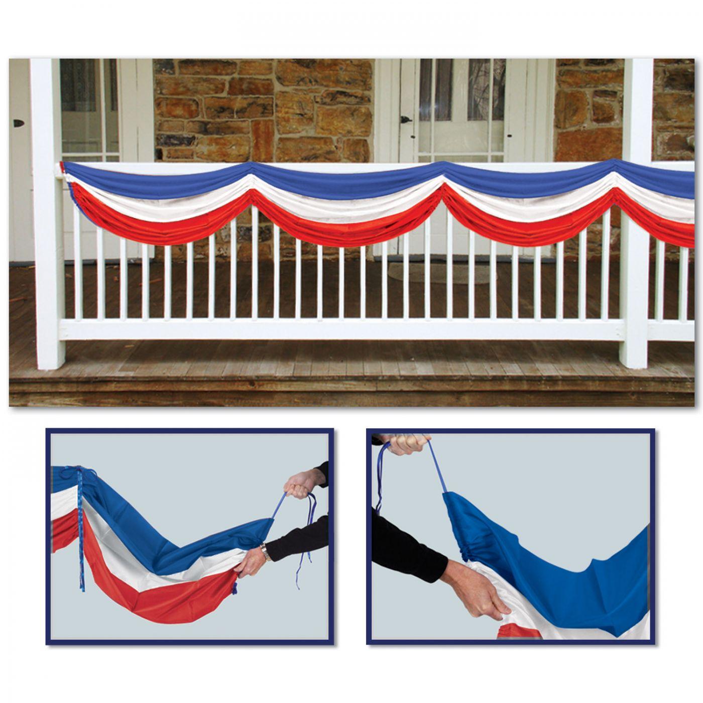 Patriotic Fabric Bunting (6) image