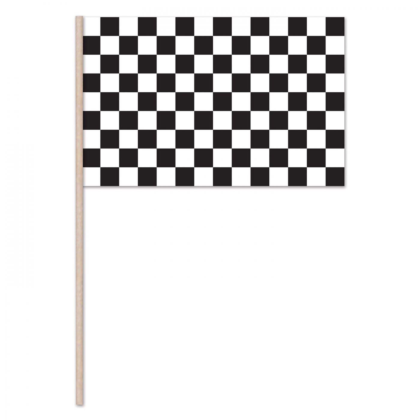 Checkered Flag - Plastic (144) image