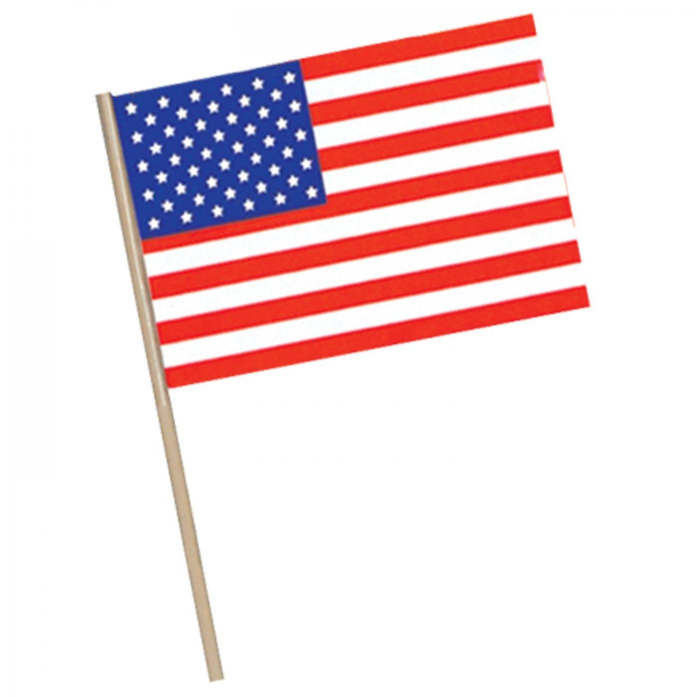 American Flag - Plastic (144) image