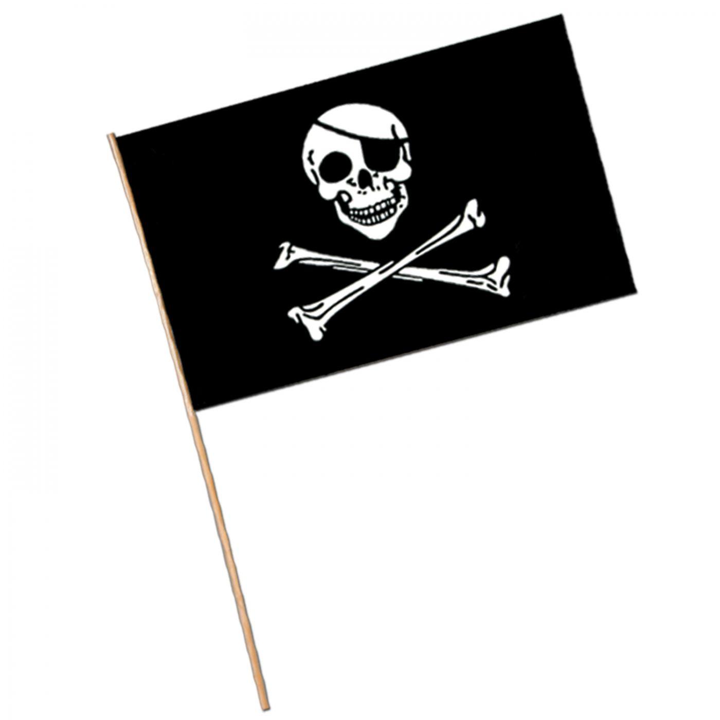 Pirate Flag - Plastic (144) image