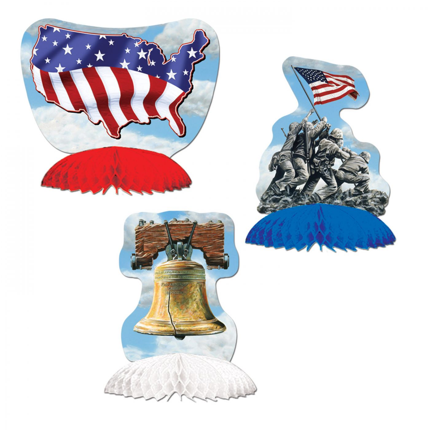 Patriotic Mini Centerpieces image