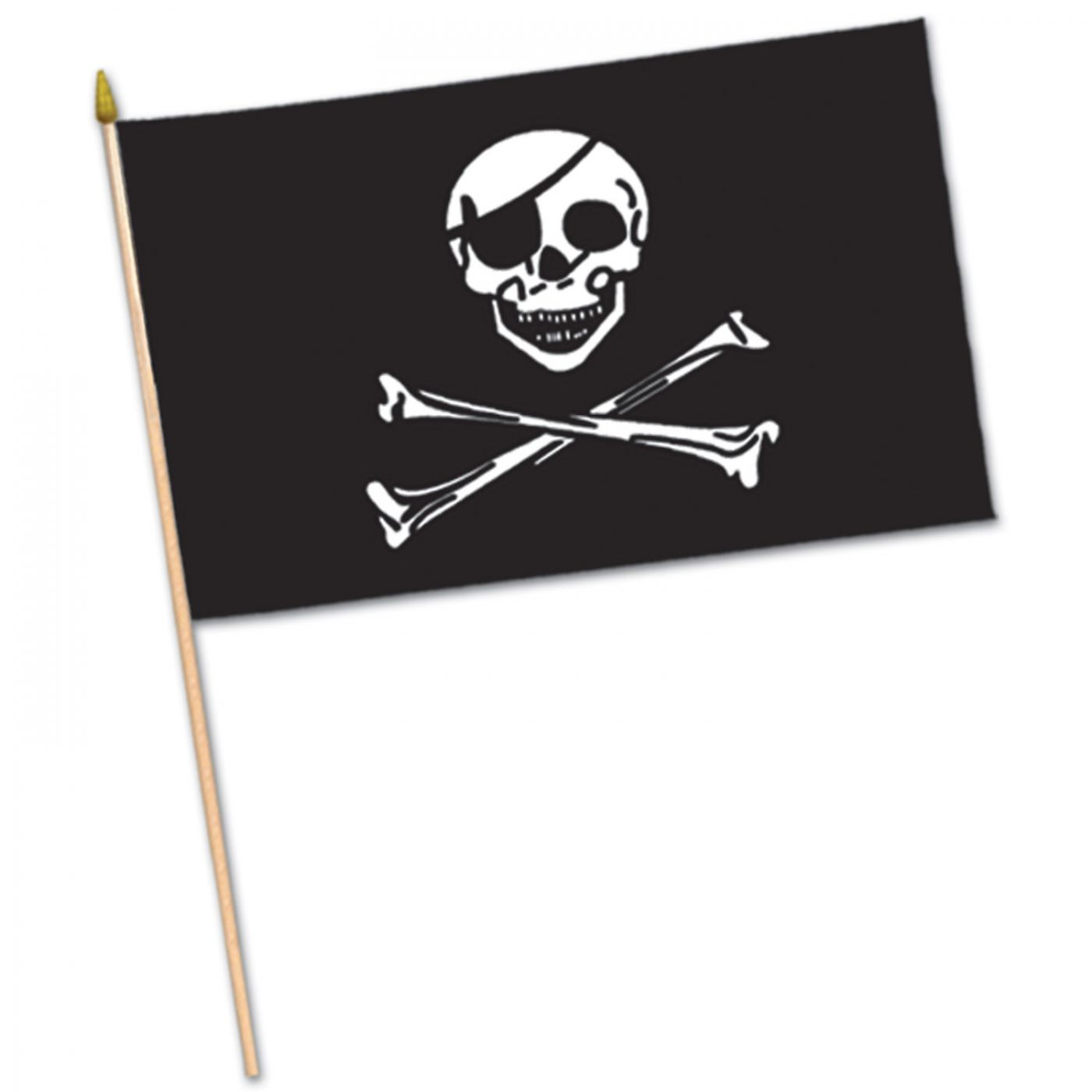 Pirate Flag - Fabric image
