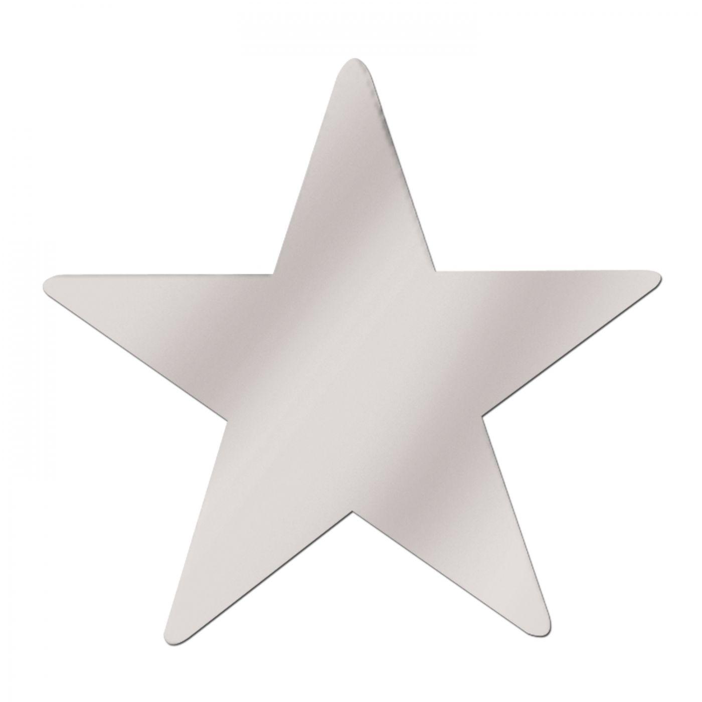 Jumbo Foil Star Cutout image