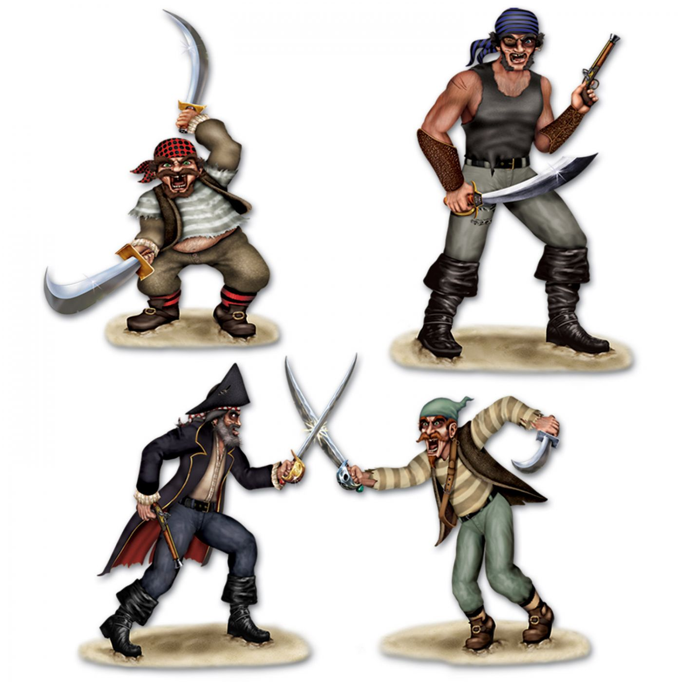 Dueling Pirate & Bandit Props image