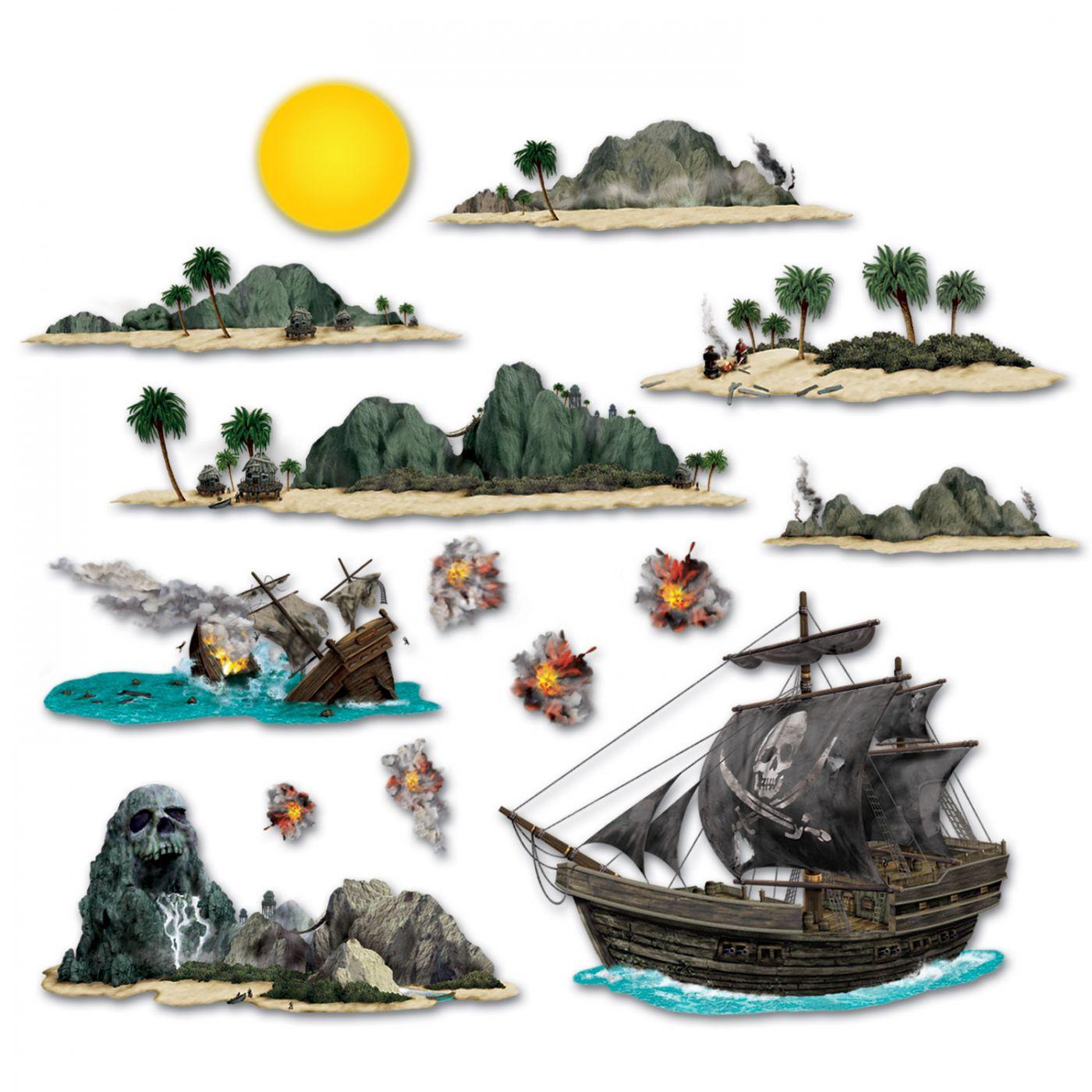 Pirate Ship & Island Props image