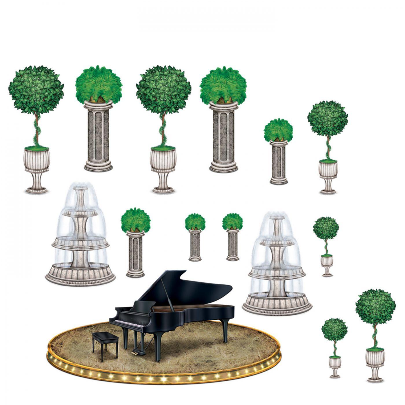 Image of Black-Tie Piano & Decor Props