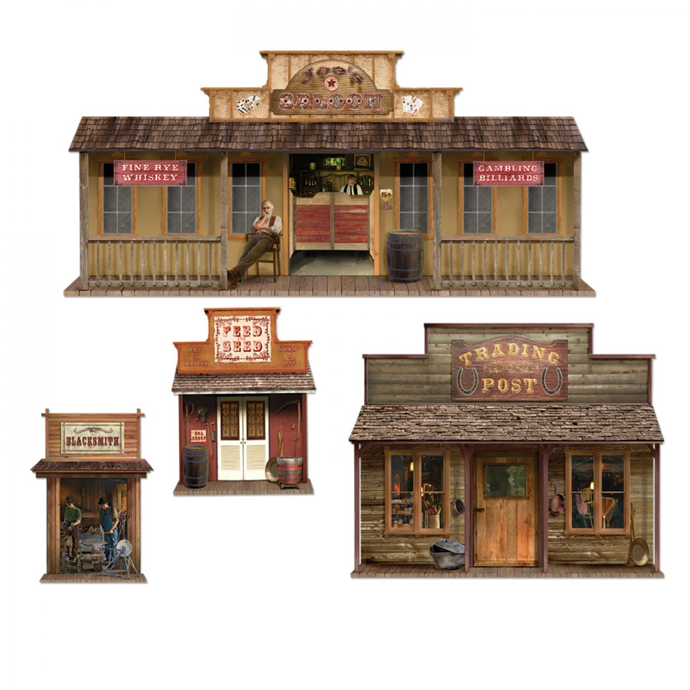 Wild West Town Props image