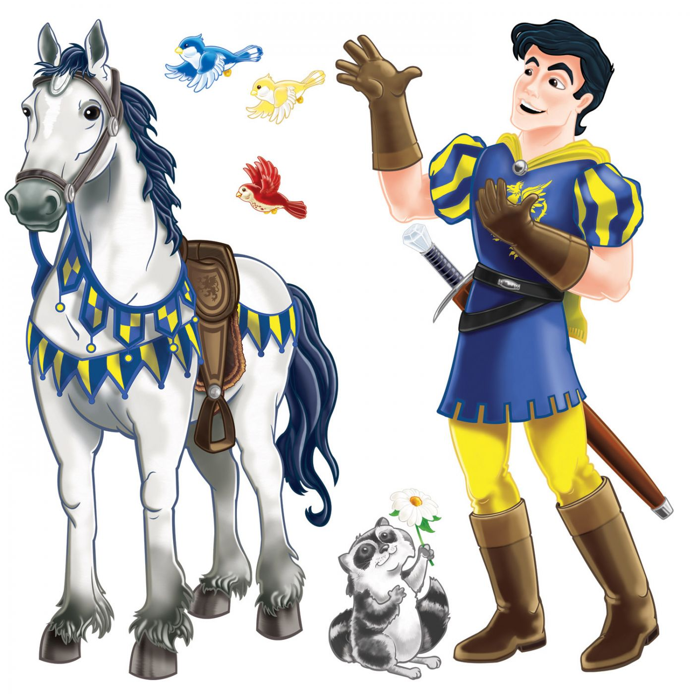 Prince & Trusty Steed Props image