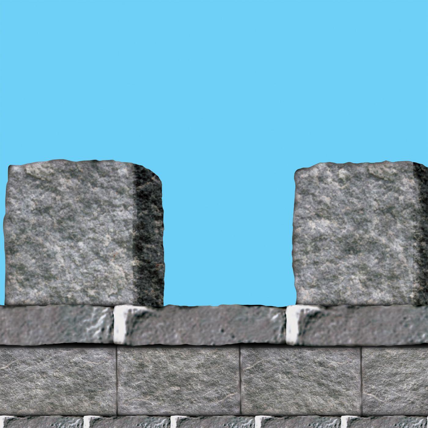 Stone Wall Border (6) image