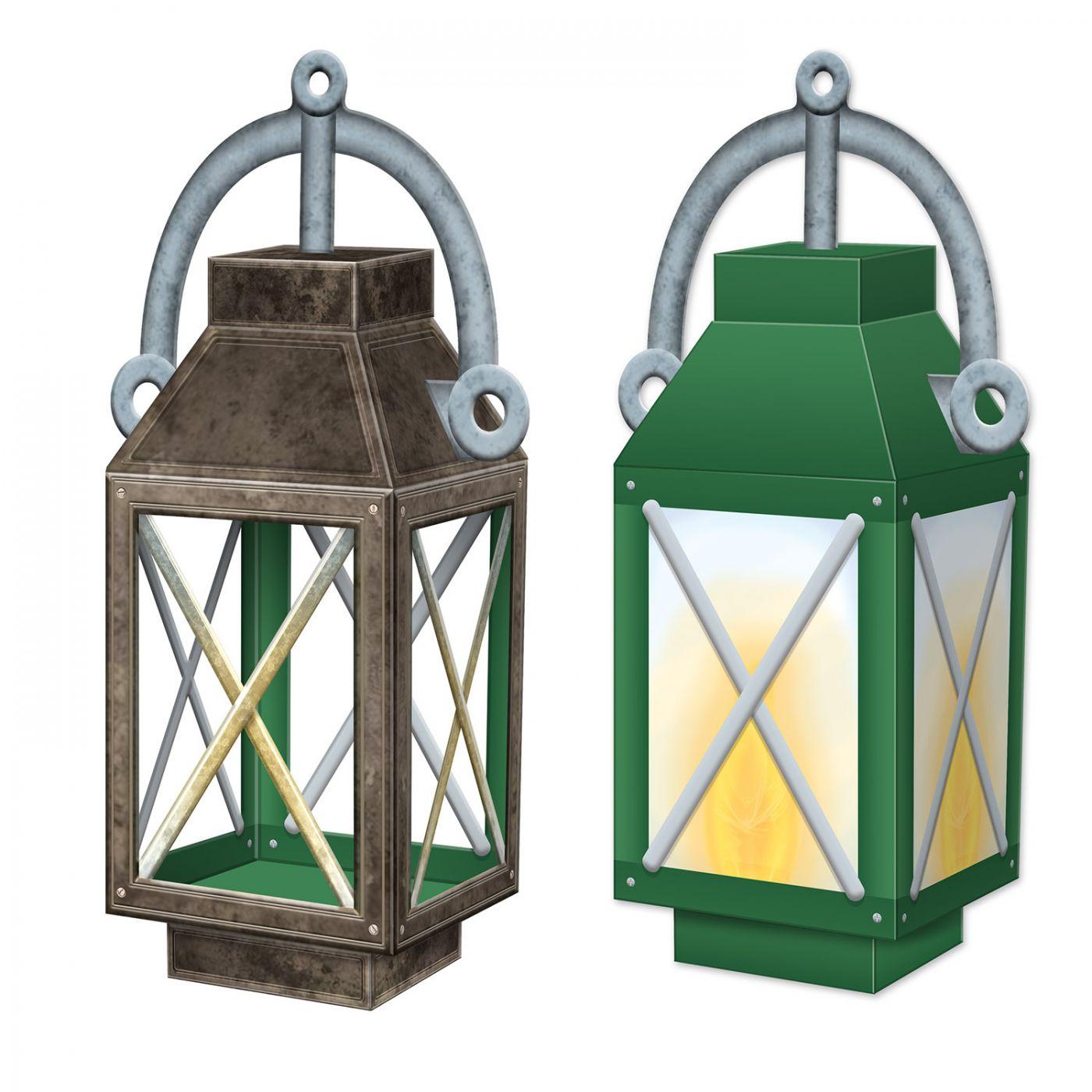 Image of 3-D Lantern Centerpiece