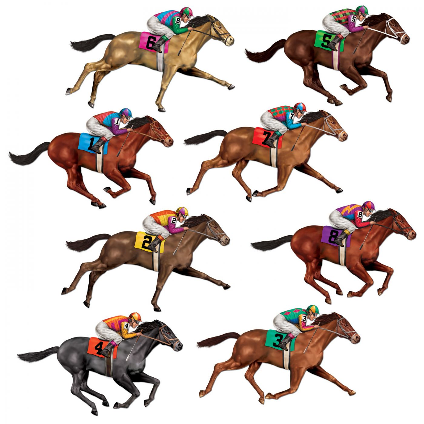 Image of Race Horse Props