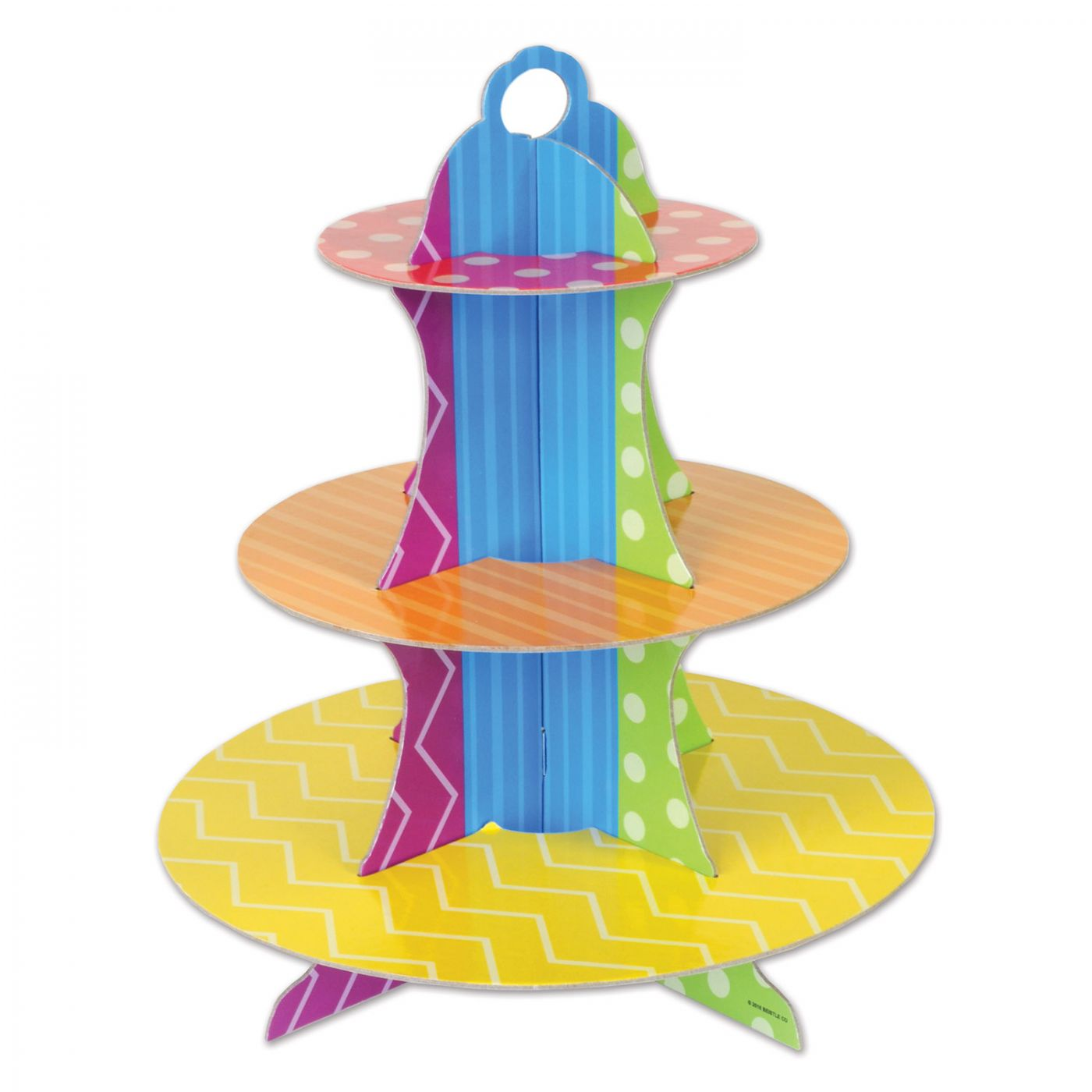 Dots & Stripes Cupcake Stand image