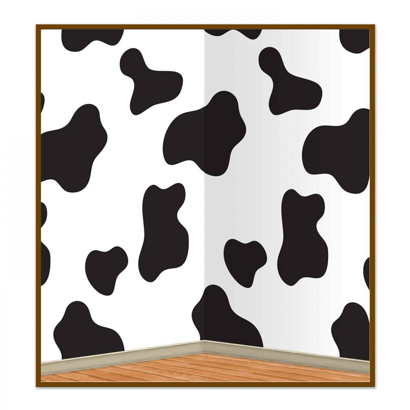 Cow Print Backdrop (6) image