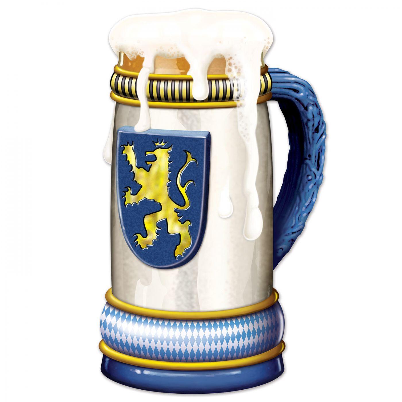 Jumbo Beer Stein Cutout image