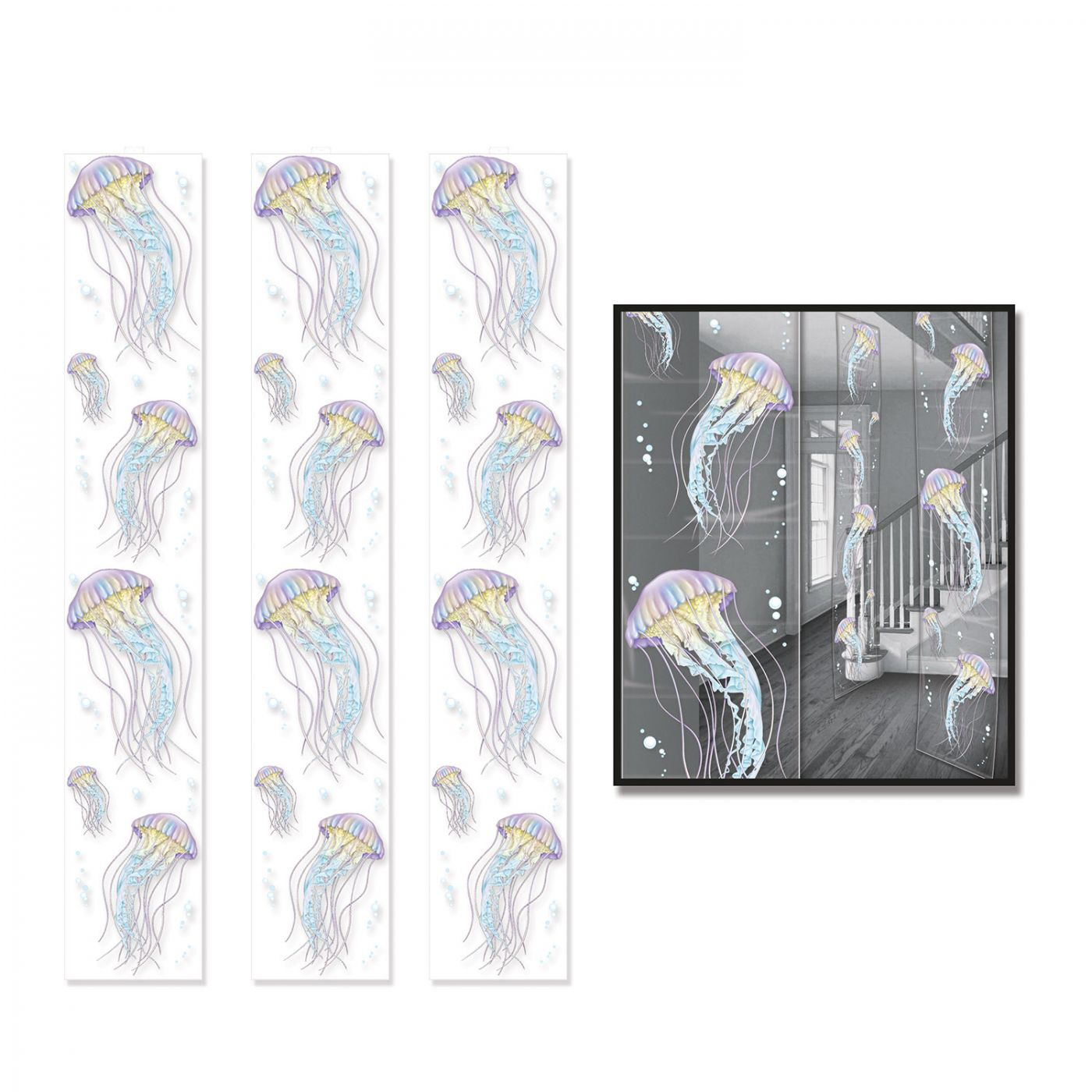 Jellyfish Party Panels image
