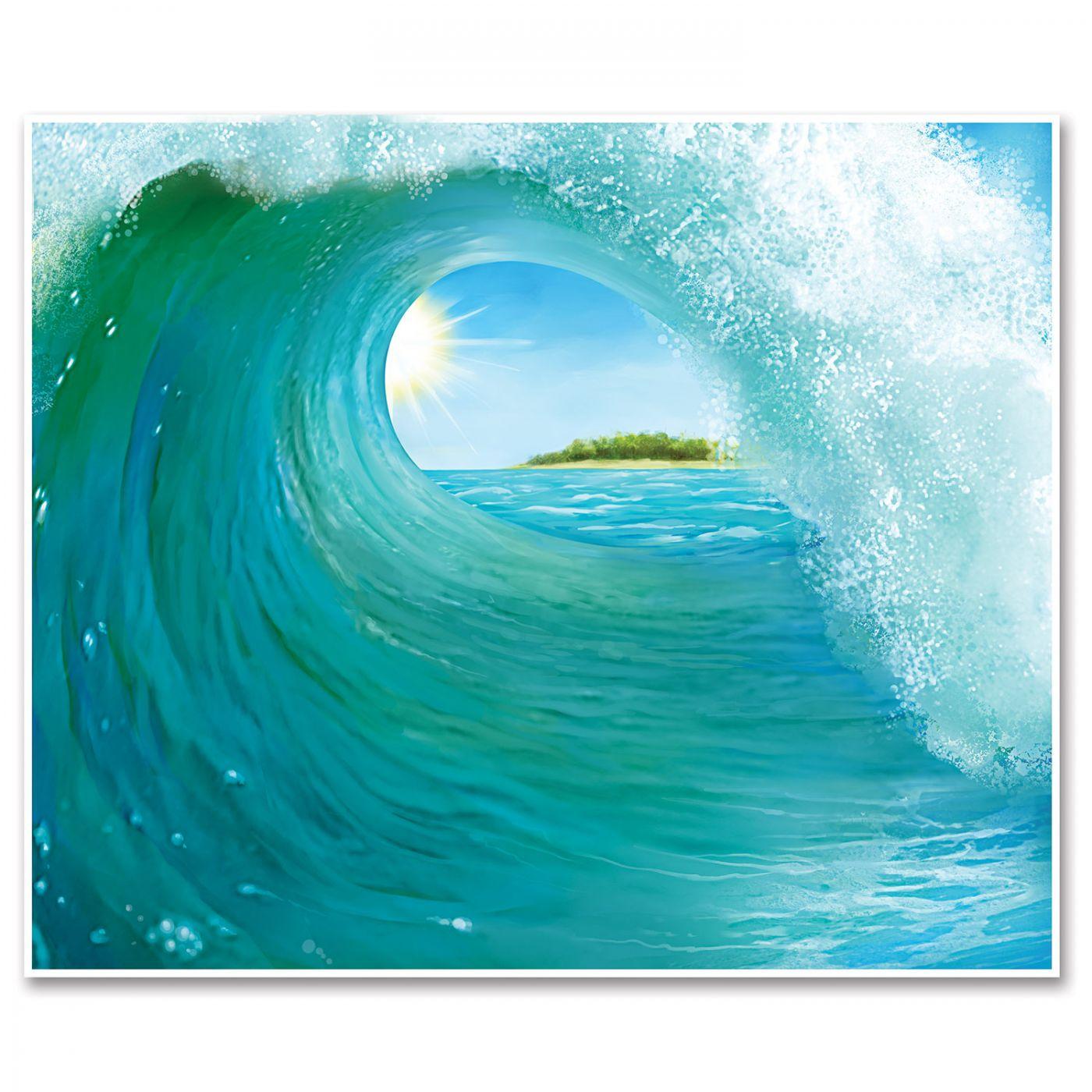 Surf Wave Insta-Mural (6) image