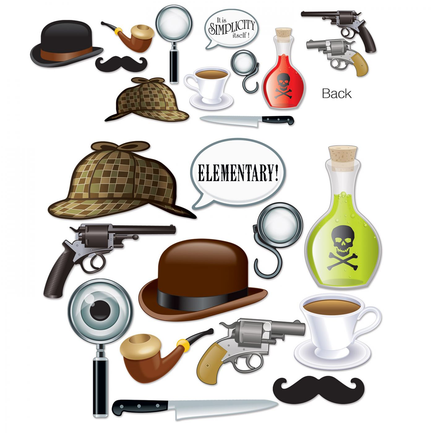 Sherlock Holmes Photo Fun Signs image
