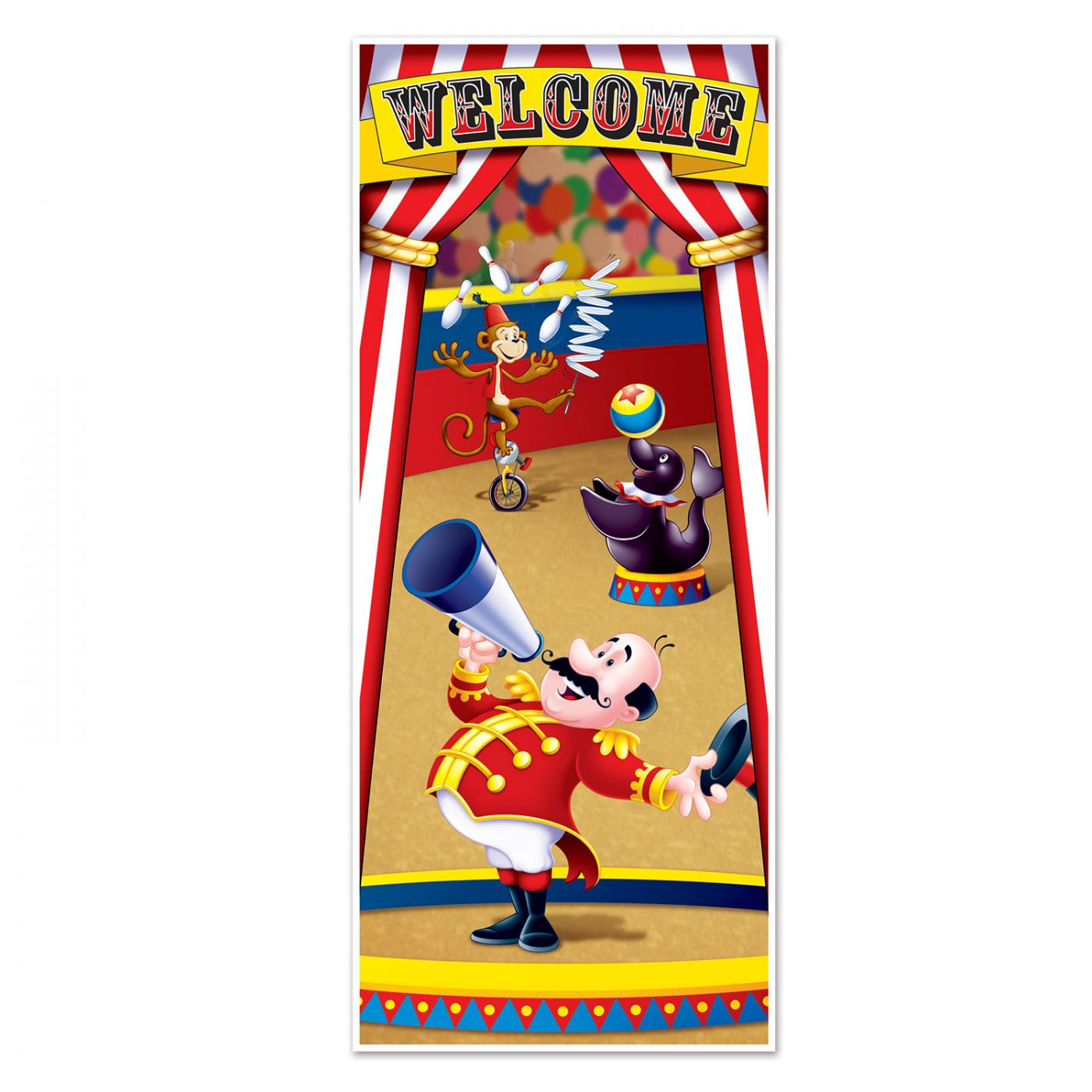 Circus Tent Door Cover image