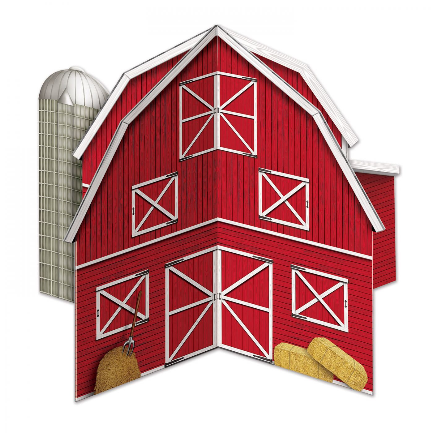 3-D Barn Centerpiece image