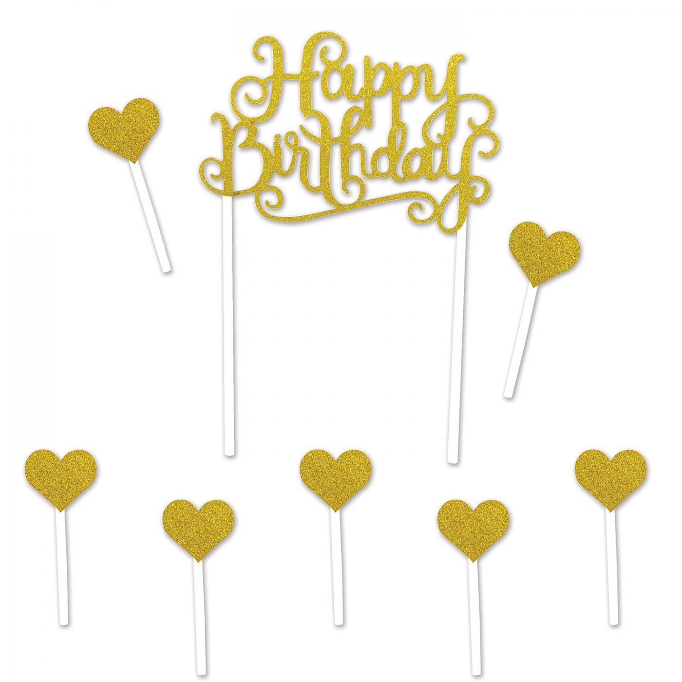 Image of Happy Birthday Cake Topper