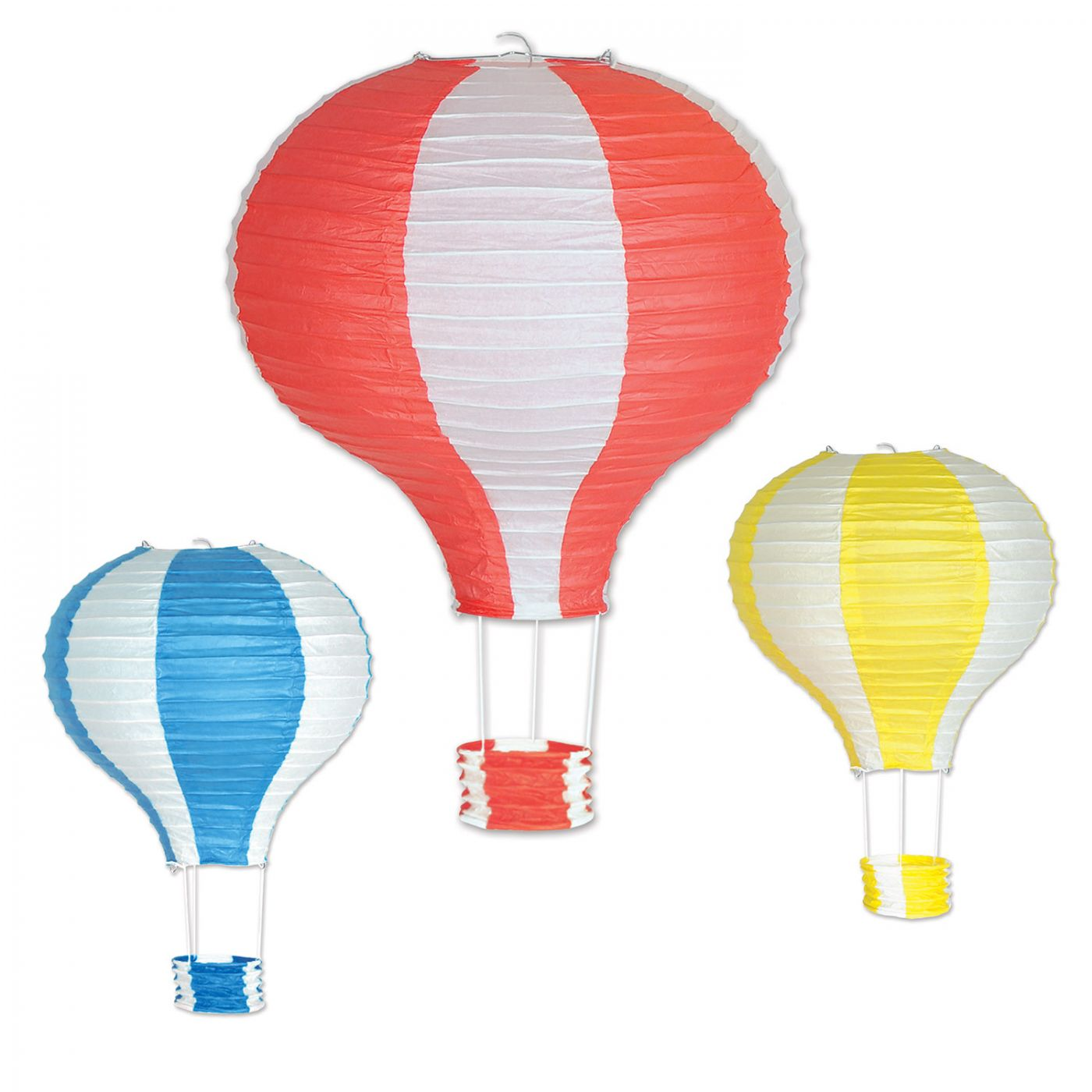Hot Air Balloon Paper Lanterns (6) image
