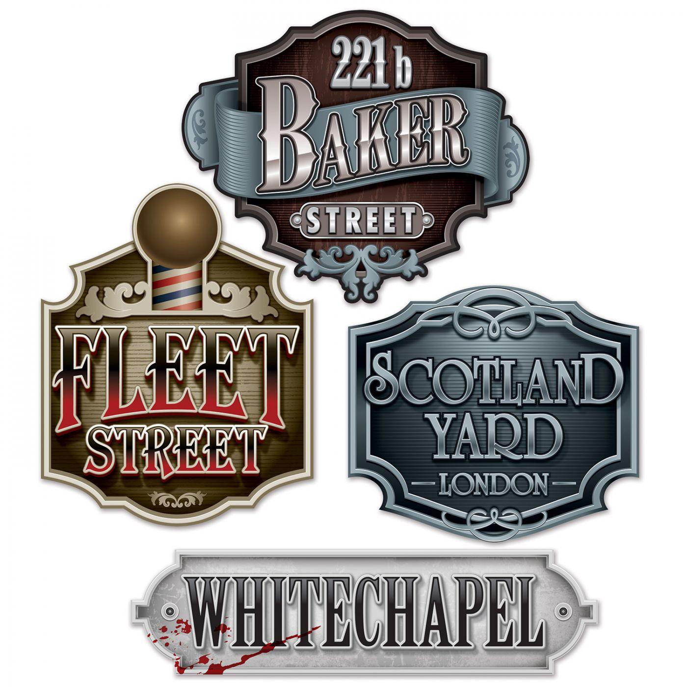 Sherlock Holmes Decorative Sign Cutouts image