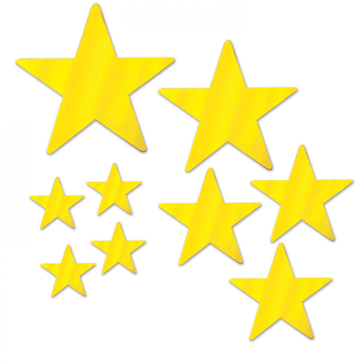 Pkgd Foil Star Cutouts image