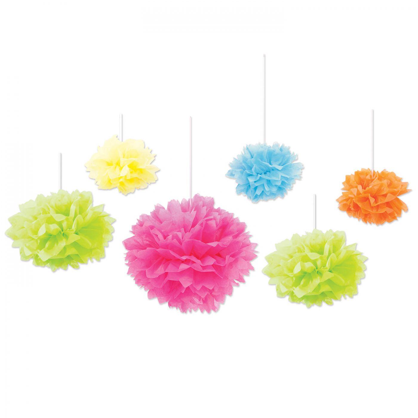 Tissue Fluff Balls (6) image