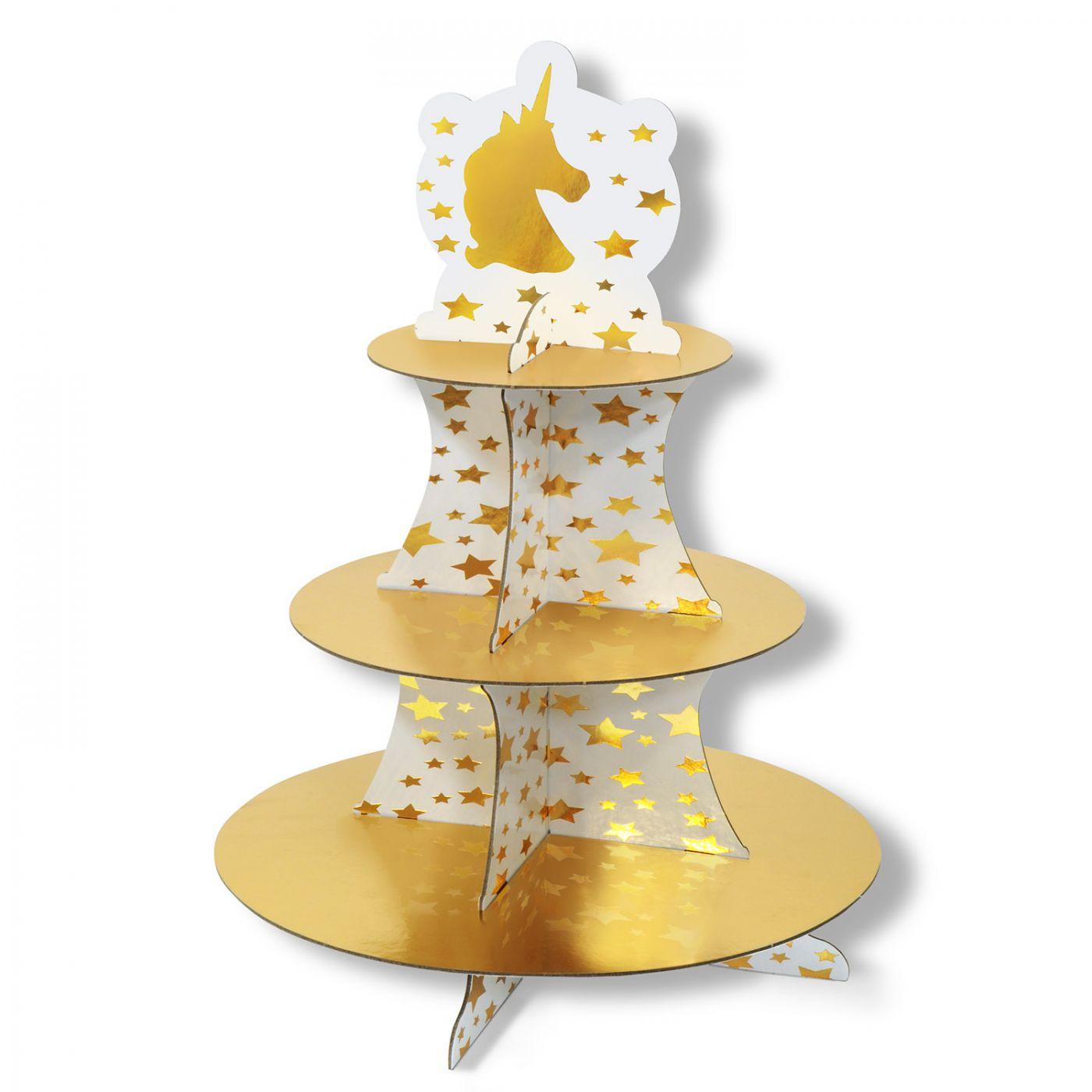 Unicorn Cupcake Stand image
