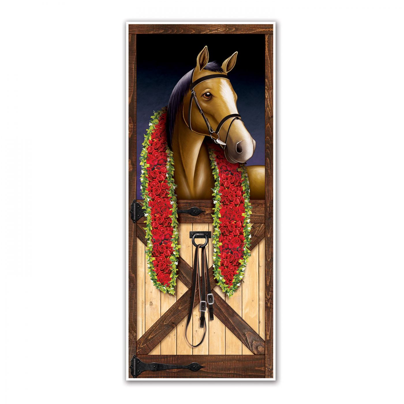 Image of Horse Racing Door Cover
