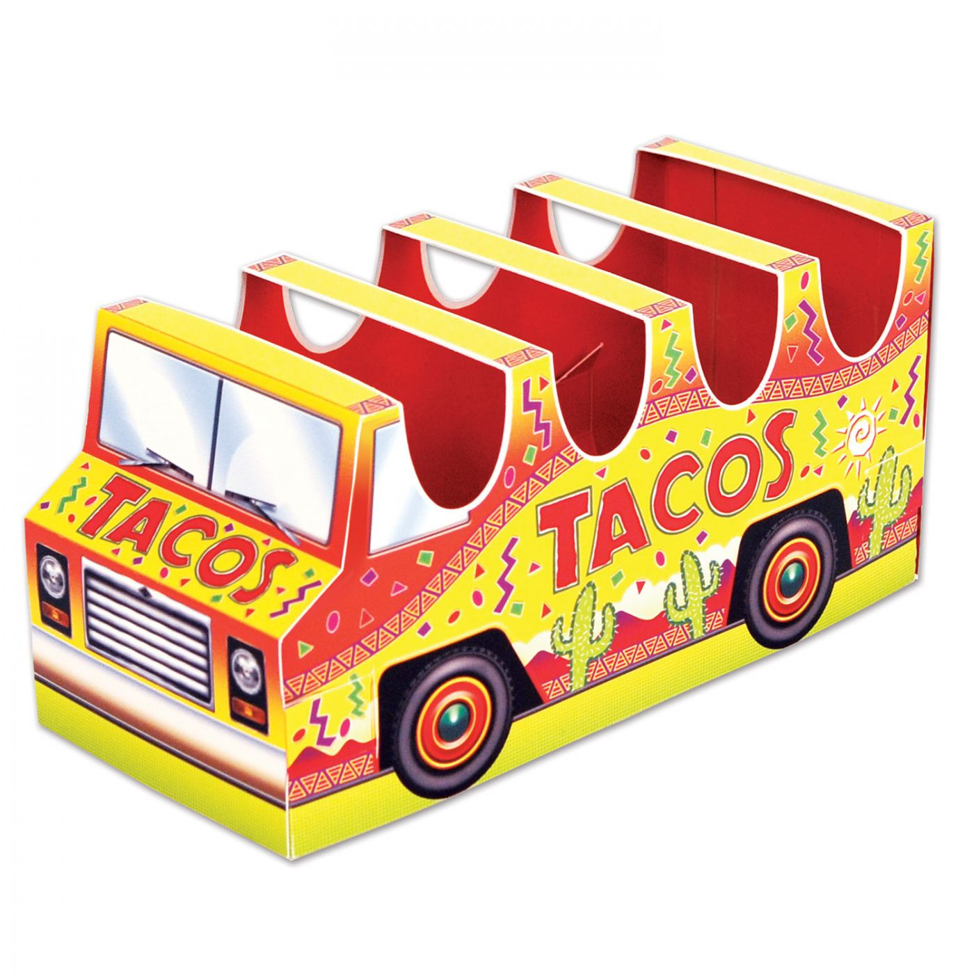 Image of 3-D Taco Truck Centerpiece