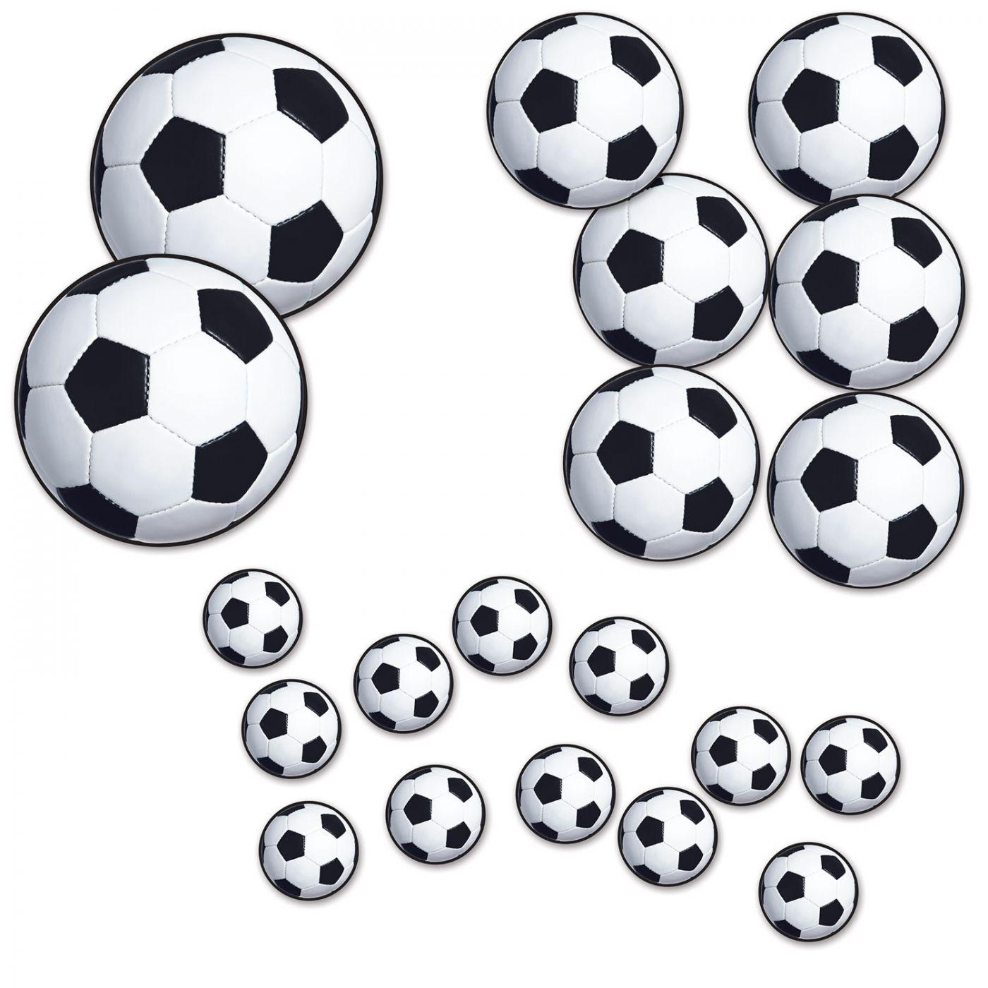 Soccer Ball Cutouts image